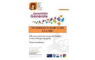 Vendredi 13 mars 2015 : assemblée générale