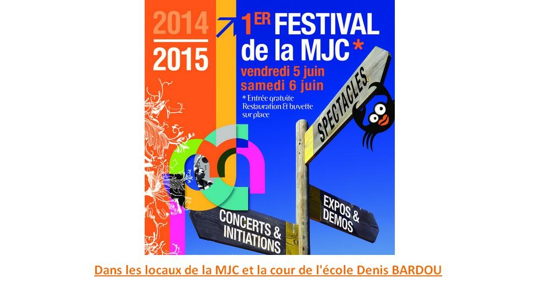Vendredi 5 et samedi 6 juin : premier festival de la MJC