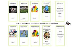 Vacances de Toussaint : programme ados