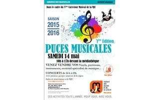 Samedi 14 mai : puces musicales