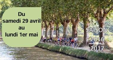 Samedi 29 avril au lundi 1 mai : sortie vélo