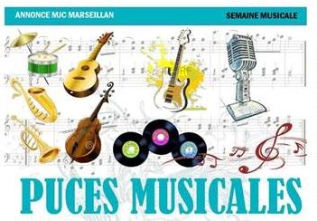 Samedi 6 mai 2017 : puces musicales
