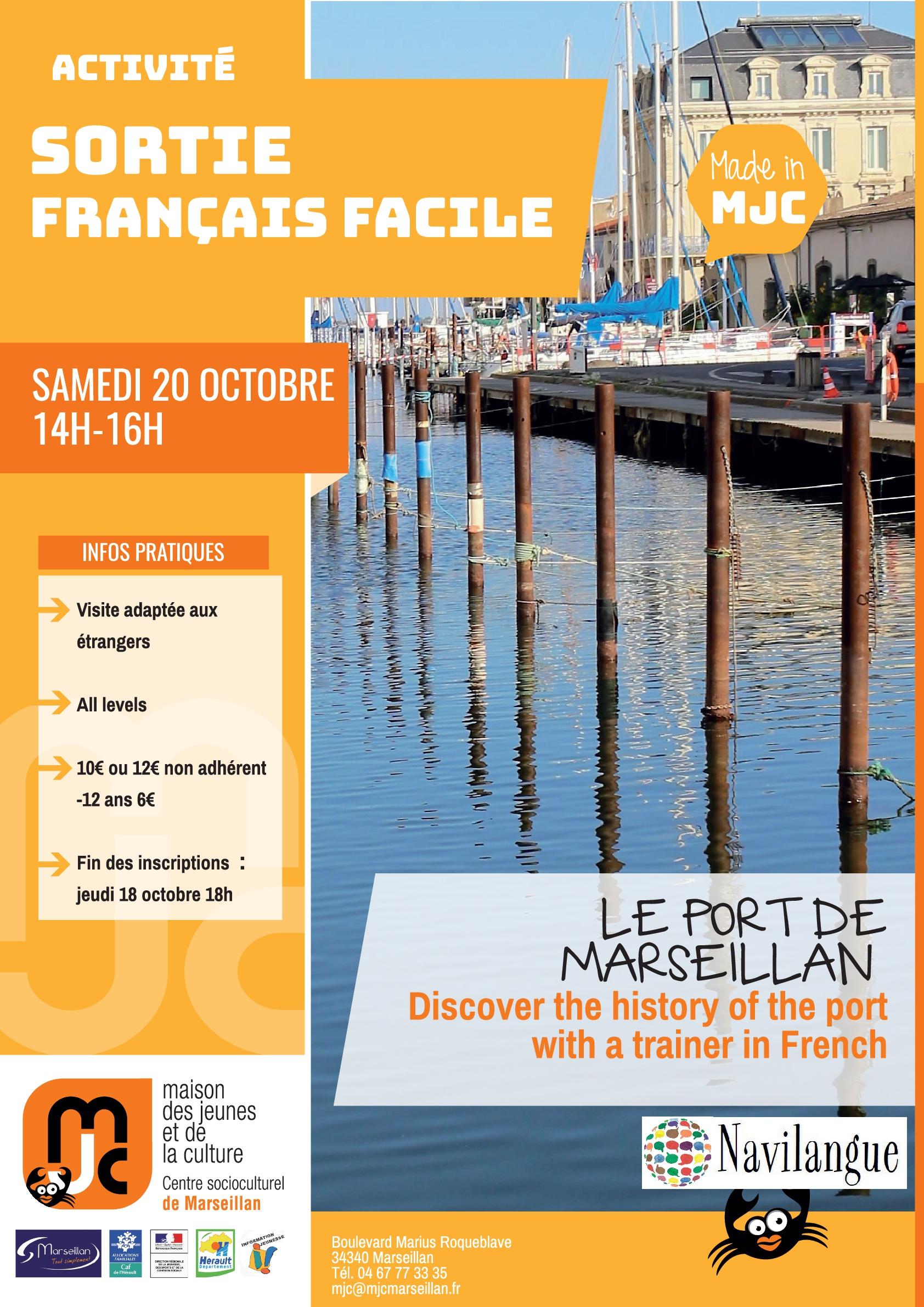 Samedi 20 octobre 2018 : sortie français facile