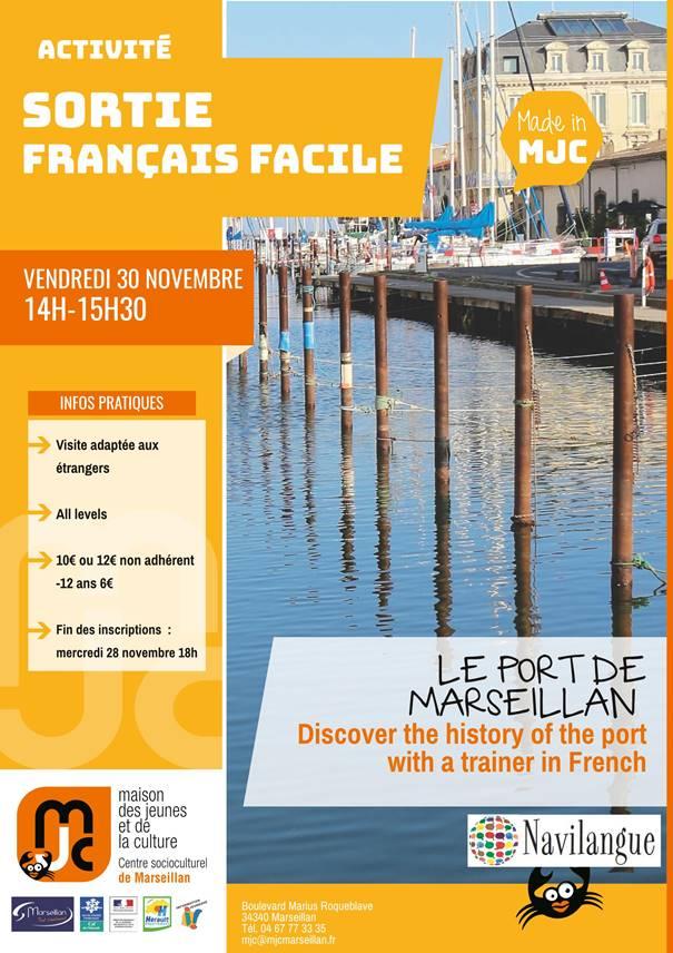 Samedi 30 novembre 2018 : sortie français facile