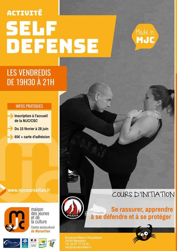 Nouvelle activité self defense