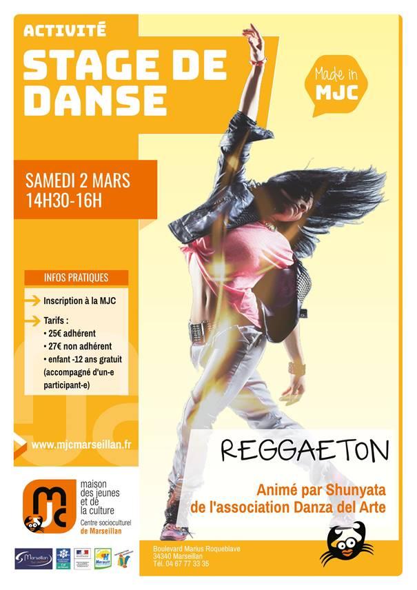 Samedi 2 mars 2019 : stage de danse