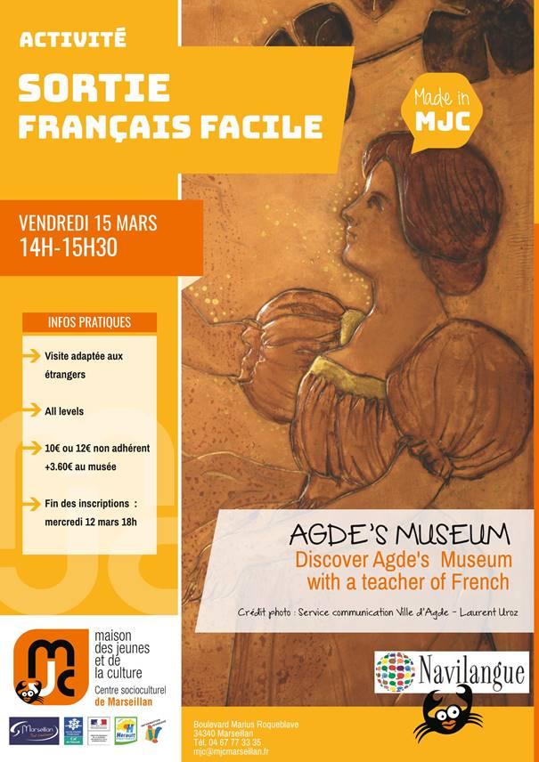 Vendredi 15 mars 2019 : sortie français facile