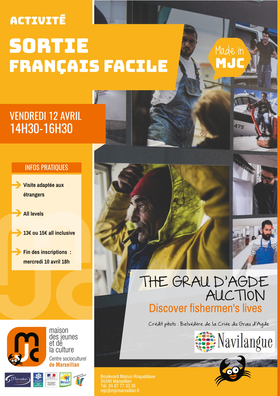 Vendredi 12 avril 2019 : sortie français facile
