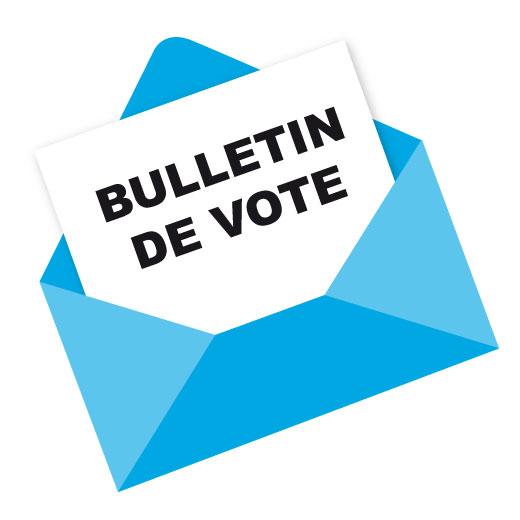 Assemblée générale 2020 : bulletin de vote